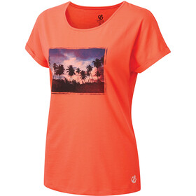 Dare 2b Improve T-shirt Femme, fiery coral